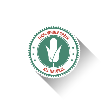 Non-gmo corn badge
