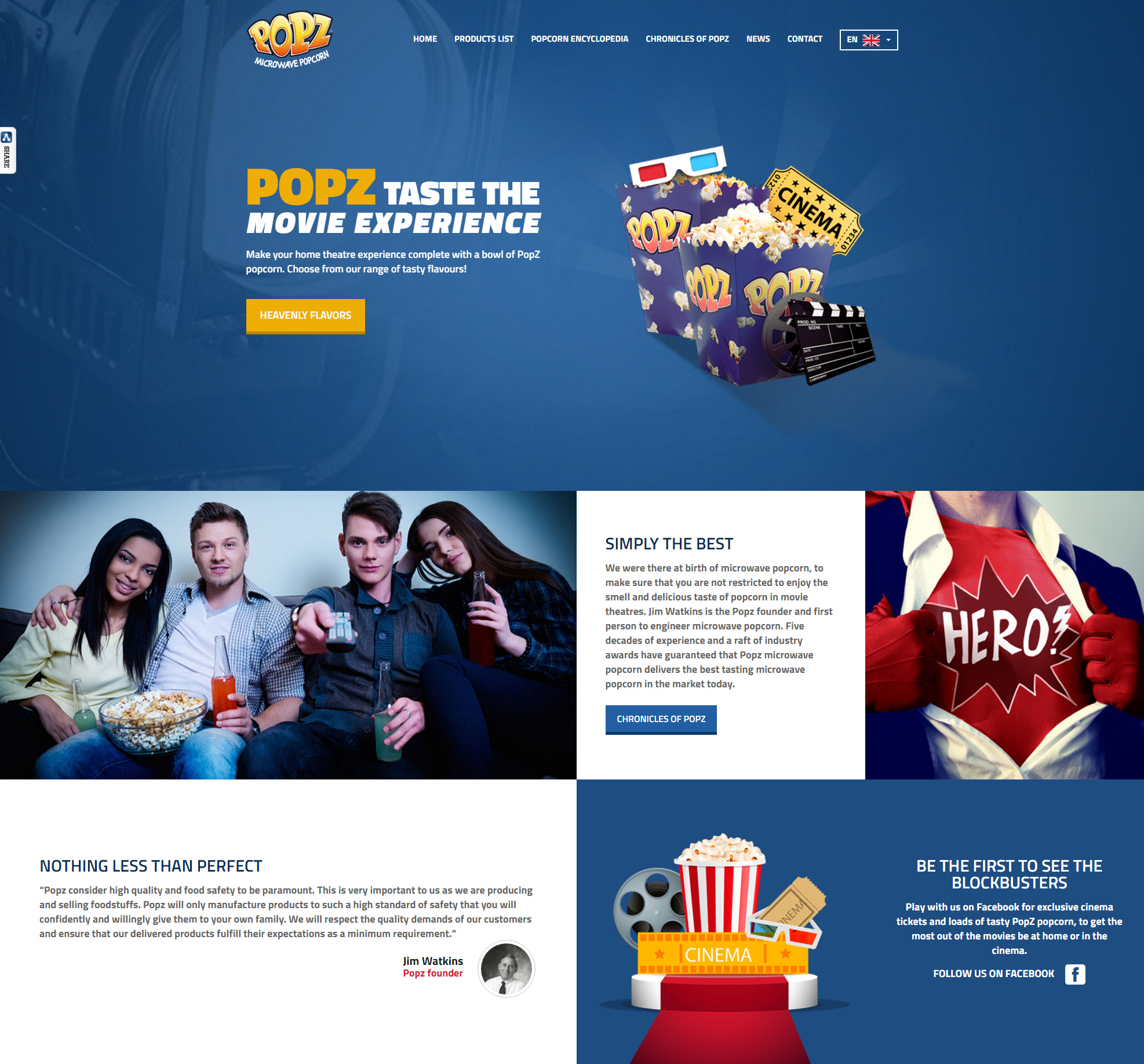 Popz launches new website